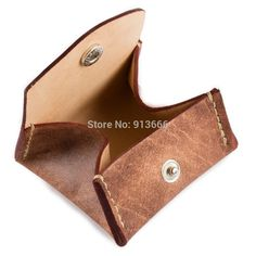 Aliexpress.com : Buy Genuine Leather Coin Purse Wallet Pouch by ...