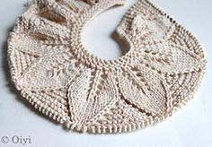 AngelaTongs Organic Leaf Cardigan - Knit & Crochet for Kids Leaf Knitting Pattern, Baby Boy Knitting Patterns, Knitting Stitches, Free Knitting, Crochet Patterns, Diy Crafts Knitting, Diy Crafts Crochet, Crochet For Kids, Sewing For Kids