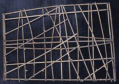 Cartes polynésiennes de la houle en bouts de bois polynesie carte bois baton mer vague 07 information histoire featured carte information