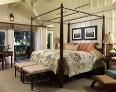 like the curtains ....  Spaces British Colonial Style Design, Pictures, Remodel, Decor and Ideas - page 5