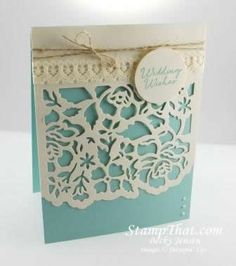 Stampin' up! Detailed Floral Thinlits