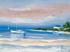 L'oublie du temps Peintre navigateur, Frédéric Flanet puise dans le vent du large une inspiration qui se ressent dans ces toiles, l'artiste offre un espace ou rien ne vient troubler notre regard.