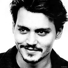 You just can't beat a bit of black and white J.Depp can you. Phwoarr