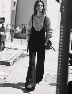 Photography: David Burton. Styled by: Barbara Baumel.Hair: Dennis Devoy. Makeup: Eric Polito.Model: Tilda Lindstam.