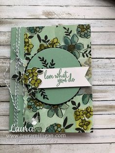 "Laura Milligan, Stampin' Up! Demonstrator - I'd Rather ""Bee"" Stampin!: North American Events Council Blog Hop"