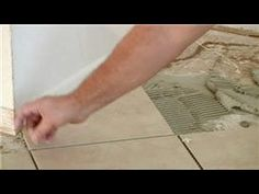 Tile 101 : How to Lay Tile  One of the best tutorials I've seen