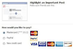 #Facebook gauges interest in new way to monetize users: 'highlighted posts'