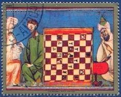 Miniatures from the chess book of King Alfonso X of Castile