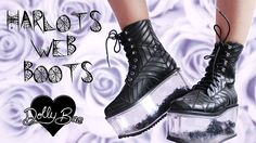 Harlots Web Boots 🕸 Dolly Bae ★ Dolls Kill  #dollskill #dollybae #harlots #web #boots #spider #platformshoes #platform #witch #witchshoes #goth #nugoth #gothic #gothshoes #pastelgoth #alternative #alternarivestyle #creepycute #creepy #halloweeneveryday #doll #dollshoes #alternativefashion #platformaddict #shoesaddict #shoeporn