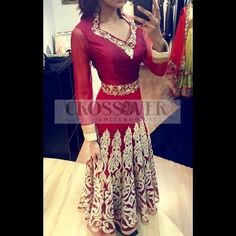 Gorgeous regal anarkali