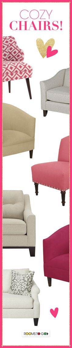 Styles of chairs to satisfy even the most selective furniture shoppers!