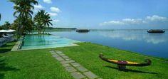 Pool at Kumarakom Lake Resort, Kerala, India