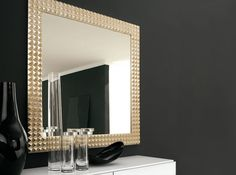Egypt Square Wall Mirror by Cattelan Italia - $1,245.00