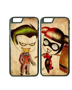 Joker & Harley couples iPhone cases...Relationship Goals