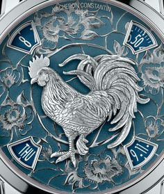 """Vacheron Constantin Métiers D'Art Legend Of The Chinese Zodiac Year Of The Rooster Watch- by Kenny Yeo - Just in time for the Chinese New Year. Details at: aBlogtoWatch.com - """"Despite the tough economic climate, Asia, specifically Hong Kong and China, remain two of the biggest markets for Swiss watch brands. And to celebrate the Chinese New Year, which will be in late January, 2017, Vacheron Constantin is introducing two new and extremely limited watches..."""""""