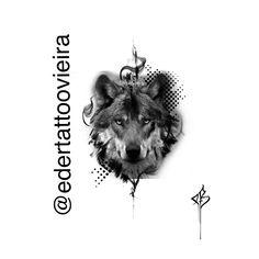 Wolf Tattoo Design, Tattoo Designs, Wolf Girl Tattoos, Photoshop Ideas, Animal 2, Chicano, Tattoo Models, Tattoo Studio, Tatoos