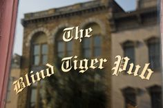The Blind Tiger Pub; Charleston, SC   - TownandCountryMag.com