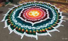 Rangoli Designs 2017 for Diwali Festival - Diwali 2017 - Shakila Raj - Easy Rangoli Designs Diwali, Rangoli Designs Latest, Latest Rangoli, Rangoli Designs Flower, Free Hand Rangoli Design, Rangoli Ideas, Diwali Rangoli, Rangoli Designs Images, Flower Rangoli