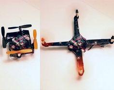 Kompaktowy dron składany jak origami