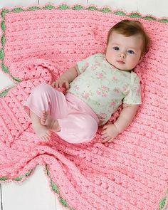 Best Free Crochet » Free Cuddle & Coo Blanket Crochet Pattern from RedHeart.com