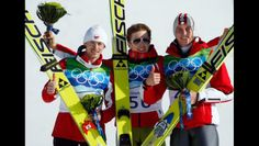 Plenty of hardware Swiss ski jumper Simon Ammann may have taken two gold medals but Adam Małysz of Poland and Gregor Schlierenzauer of Austria took home two medals as well. The duo finished two-three in both the normall hill and large hill with Małysz taking home two silver medals and Schlierenzauer claiming two bronze medals.