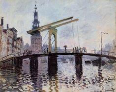 Le Pont, Amsterdam (C Monet - W 306), 1874.