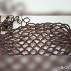 Узор в копилочку👛 #nata_knitter_мк Простейший узор сумки сетки. Вяжется как вы заметили такая сумка вдоль. Т. е набираете нужное…
