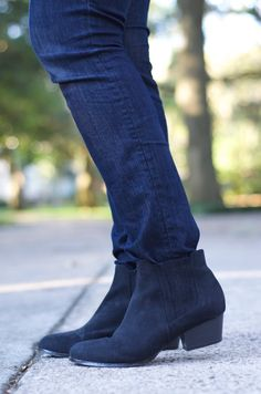 love these black booties