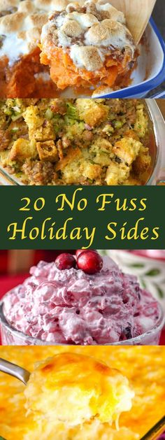 20 No Fuss Holiday Sides to Be Thankful For