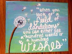 Canvas Painting Wishes Quote by kalligraphy on Etsy