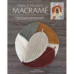 Macrame Design, Macrame Art, Macrame Projects, Macrame Knots, Micro Macrame, Diy Projects, Rainbow Quilt, New Crafts, Yarn Crafts