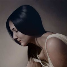 Realistic Painting Mary Jane Ansell