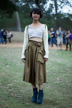 calivintage: festival style at outside lands by calivintage, via Flickr