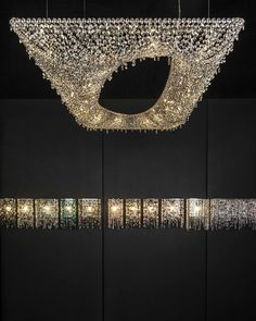 Artikoi crystal chandelier #Manooi #CrystalChandelier #Design #Lighting #Artikoi #luxury #furniture