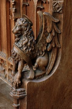 Walpole, St. Peter, Norfolk, stalls, arm rest | by groenling