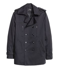 short trench - mens | H&M US