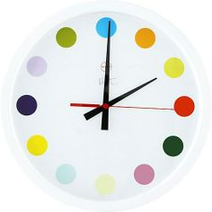 Damien Hirst - Spot Clock - Gagosian Gallery, a mere $750 for a time-telling piece of art