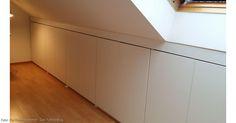 Du suchst eine Lösung den Raum unter der Dachschräge sinnvoll zu nutzen? Hobby-Handwerker Alexander zeigt, wie man einen maßangefertigten Einbauschrank selber bauen kann.