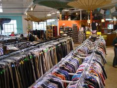 6 of the best thrift stores in San Diego. Think I'll go thrift shopping while in Cali!!