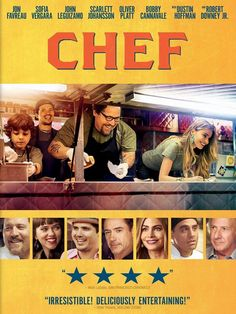 A chef who loses his restaurant job starts up a food truck in an effort to reclaim his creative promise, while piecing back together his estranged family.  Comedy, Rated R, 115 min.  http://ccsp.ent.sirsi.net/client/hppl/search/results?qu=favreau+chef&te=&lm=HPLIBRARY&dt=list
