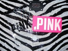 NEW! Victoria Secret VS Love Pink ♥ iPhone 4/4S GLOW IN DARK Case Cover 2013 NWT