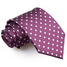 Polka Dot Men's Regular Tie