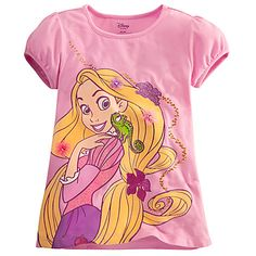 Rapunzel Tee for Girls | Tangled | Products | Disney Store