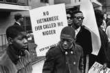 Vietnam anti-war protesters making their point. My two biggest issues are the Vietnam War (and Veteran's benefits) and Civil Rights. Black Power, Martin Luther King, By Any Means Necessary, Protest Signs, Civil Rights Movement, Before Us, African American History, Vietnam War, African Americans