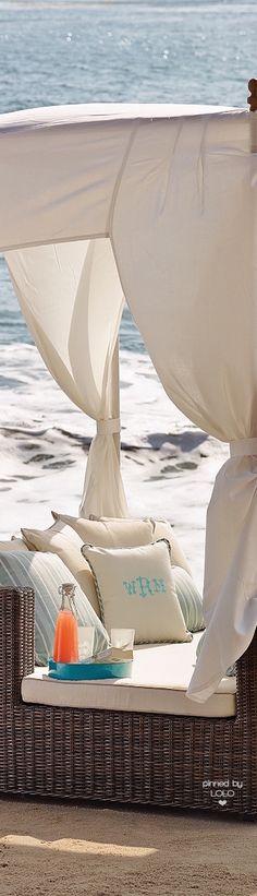 Summer shade on the beach Summer Dream, Summer Beach, Summer Vibes, Coastal Living, Coastal Decor, Relax, Peaceful Places, Luxury Home Decor, Summertime