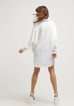 Nümph TRINA - Skjorte - cloud dancer - Zalando.no Cloud Dancer, White Dress, Clouds, Dresses, Style, Fashion, Vestidos, Swag, Moda