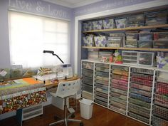 my sewing space...
