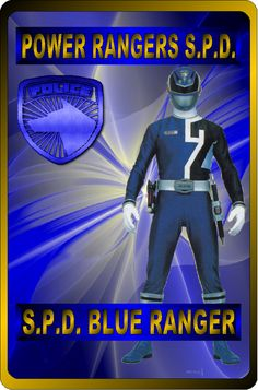 D Blue Ranger by rangeranime on Power Rangers Fan Art, Power Rangers Ninja Storm, Power Rangers Spd, Mighty Morphin Power Rangers, Naruto Sage, Power Rengers, Go Busters, Abc Family, Cool Cards