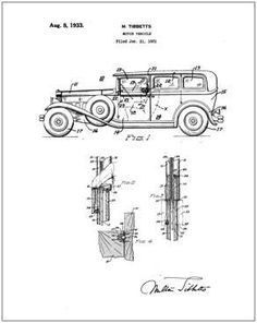 Packard patent Drawing