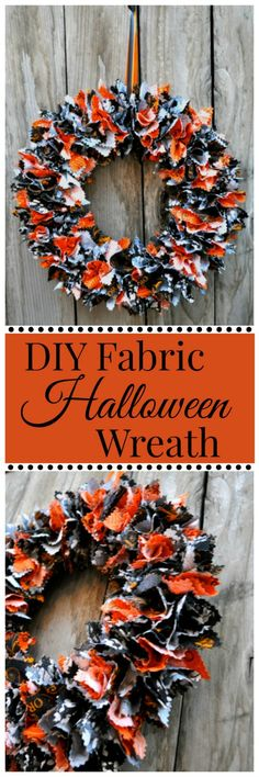 DIY Fabric Halloween